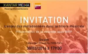 invitation Lancement Base de données BIPP_Ircam 30 03 2016